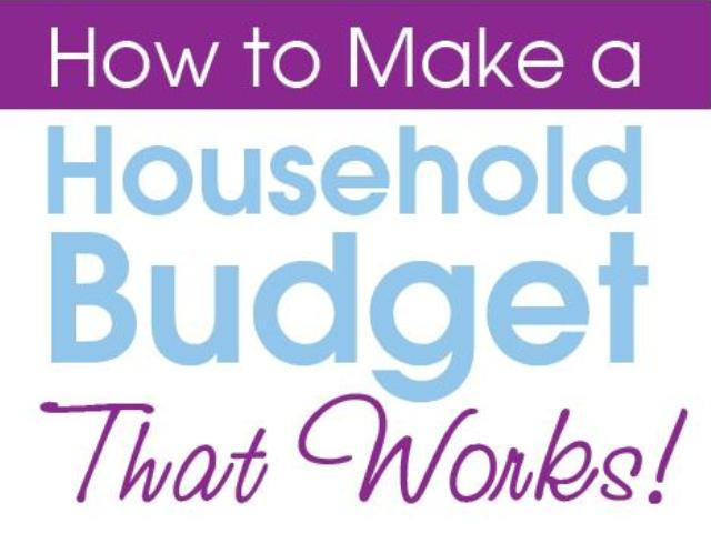 Household Budget How to Make a That Works