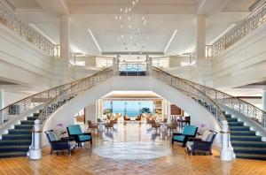 Coronado Bay lobby
