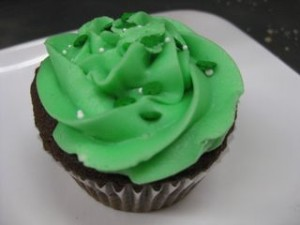 Green Cupcake Picture