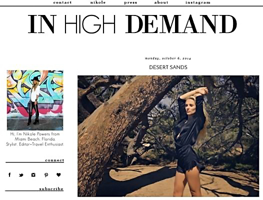 Blogger Nikole Powers (www.inhighdemandblog.com) talks updating your denim x 5