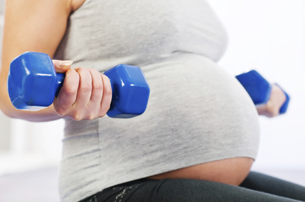 Exercise and Dieting for Moms-To-Be