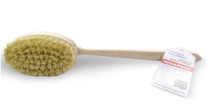 Dry Skin Brush Revitalizes Skin, Detoxes Body