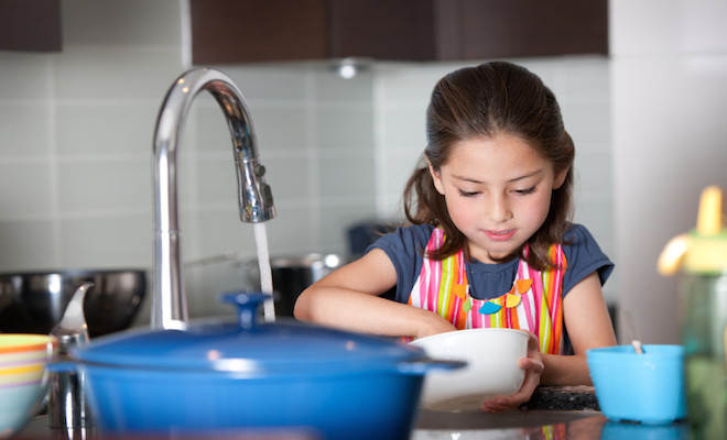 Why Kids Should Help Out With Chores