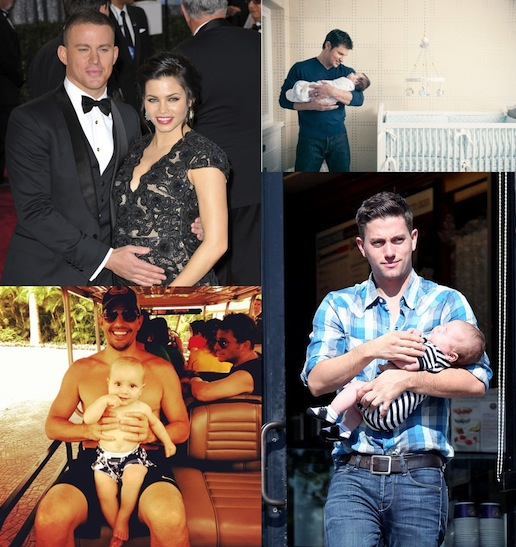10 Star Dads Celebrating First Father's Day