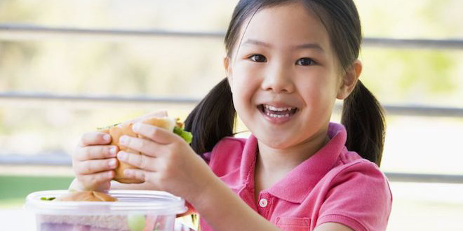 Tips for healthy school lunches