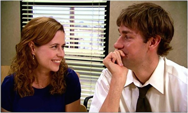 """Lessons in Love from the Office: Finding the Jim to your Pam"""
