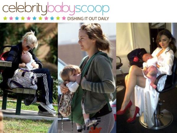 10 Celebrity Moms On The Joys Of Breastfeeding