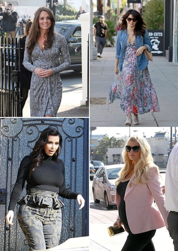Hollywood's Maternity Trends: 10 Pregnant Celebrities