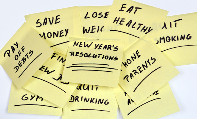 The Power of Suggestion: Managing Post New Year's Resolutions with Positive Reinforcement