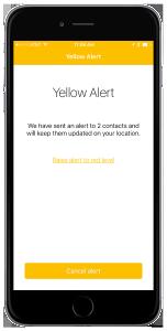 revolar phone screen_yellow