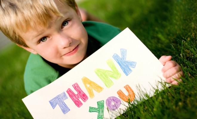 Teaching Kids the Attitude of Gratitude